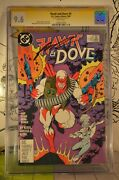 Hawk And Dove 4 Cgc 9.6 1988 Ss Signed Rob Liefeld