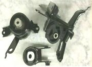3pc Engine And Transmission Mount For 2008-2014 Scion Xd 1.8l Manual Fast Shipping
