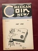 Mexican Coin News Book 1st Edition Volume 1 Number 1 July 1966