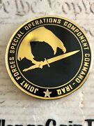 Commander Joint Forces Special Operations Component Command Iraq Challenge Coin