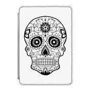 Black Sugar Candy Skull Case Cover For Kindle 6 E-reader - Tattoo Pattern