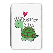 Crazy Tortoise Lady Case Cover For Kindle 6 E-reader - Funny