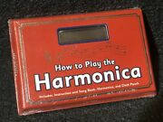 How To Play The Harmonica - Instruction And Song Book, Cloth Pouch And C Harmonica