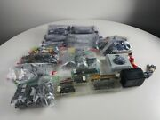 Mixed Train Track Trains And Extra Parts Lot Atlas Casadio Bachmann
