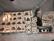 The Americana Collection Liberty Falls Huge Lot 20 Buildings And Accessories New