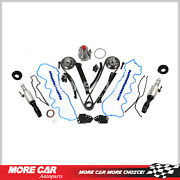 Timing Chain Kit Water Pump Cam Phaser Selenoid Gasket Set Fit 07-10 Ford 5.4l