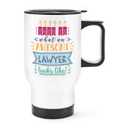 This Is What An Awesome Lawyer Looks Like Travel Mug Cup With Handle - Funny