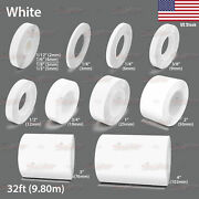 White Roll Vinyl Pinstriping Pin Stripe Car Motorcycle Line Tape Decal Stickers
