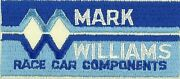 Patch Mark Williams Race Car Components ,louisville, Co.           Pa1