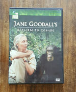 Nm Jane Goodalls Return To Gombe 2005 Dvd Authentic Us Release Animal Planet