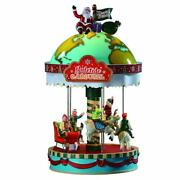 Lemax Santa's Christmas Village 2019 Yuletide Carousel 94525 Sights And Sounds