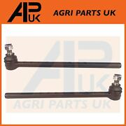 2x Leyland 245 253 255 262 270 272 Tractor Steering Ball Joint Tie Track Rod End
