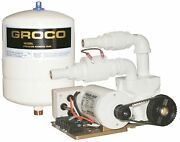 Groco Pjr-a 12v Paragon Junior Water Pressure System With Pressure Storage Tank