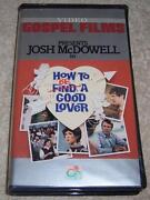 How To Be A Good Lover Vhs Video Gospel Films Josh Mcdowell Find