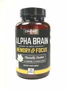 Onnit Alpha Brain Memory And Focus 90 Caps