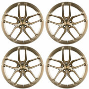 20 Stance Sf03 Bronze Forged Concave Wheels Rims Fits Tesla Model S