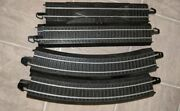 Lot Of 16 Bachmann Train Ez Train Track Curved Straight And Terminal