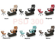 Complete Psd300 Spa Pedicure Chair Eco Magnetic Head Jet Discharge Pump + Stool