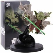 Star Wars Master Yoda Figure Toy Fighting Version Pvc Collectible Model Xmas Toy