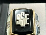 Gm Chevrolet Sse Society Of Sales Executives Awards Ring 10k Size 11.5 22535