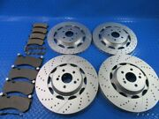 Mercedes S63 S65 Amg Front Rear Brake Pads And Rotors Topeuro 7301