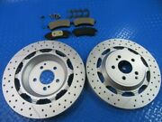 Mercedes S63 S65 Amg Rear Brake Pads And Rotors Topeuro 7310