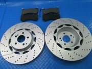 Mercedes S63 S65 Amg W222 Front Brake Pads And Rotors Topeuro 7305