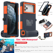 Shellbox Waterproof Diving Case 49ft Underwater Camera Cover For Iphone Samsung