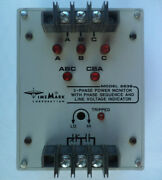 Time Mark C263 C2638 3-phase Power Monitor With Phase Sequence 480vac 60hz