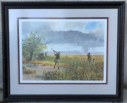 """John Cowan Art Print Limited Edition Signed Numbered """" Second Wave"""" 1990 Framed"""