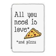 All You Need Is Love And Pizza Case Cover For Kindle 6 E-reader Valentines Day