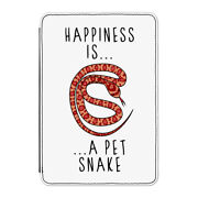 Happiness Is A Pet Snake Case Cover For Kindle 6 E-reader - Funny