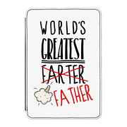 World's Greatest Farter Father Case Cover For Kindle 6 E-reader - Fathers Day