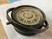 Observator Compass And Binnacle Vintage Classic Wooden Fishing Boat Trawler