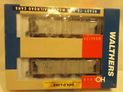 Ho Walthers Atsf Covered Hopper Two Pack In Original Box