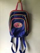 Barbie Girls Small Backpack 3 Zippers 1999 Pyramid Ny