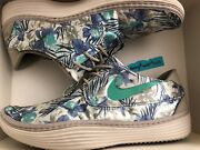 Nike Solarsoft Moccasin Floral Print Size 9.5 Menand039s 622268-003 Flower Shoes Mc