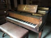Marshall And Wendell Antique Baby Grand Piano, 5' - Original Family Ownership