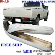 Stainless Steel Bumper Rear With For Datsun 620 2 3 4 Door Coupe Pickup 73-79