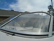 Proline 192 Boat Port Side Front Curved Windshield Only This Piece