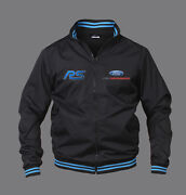New Mens Jacket Ford Rs Bomber Jacket With High Quality Embroidered Logos Focus