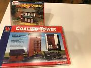 Atlas / Life Like Ho, Signal Tower And Coaling Tower , Factory Sealed C10