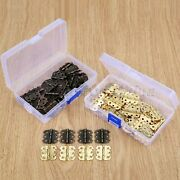 Wholesale Retro Mini Butterfly Jewelry Box Hinges Cabinet Dolls Houses Hinge 60x
