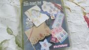 New/unused Stampendous Tiny Angel Rubber Stamp Set Ss126 Very Cute