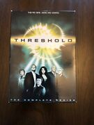 Threshold Complete Series Collection Cbs Dvd All Season Set Episode Box Show Lot