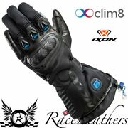 Ixon It-aso Clim8 Wireless Heated Intelligent Climate Control Motorcycle Gloves