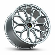 20 Gianelle Monte Carlo Silver Concave Wheels Rims Fits Cadillac Cts V Coupe