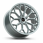 22 Gianelle Monte Carlo Silver 22x9 22x10.5 Wheels Rims Fits Dodge Charger