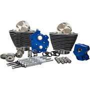 Sands Gear Drive 124 Big Bore Power Package Kit Chrome Harley M8 Oil-cooled No Ca