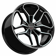 22 Giovanna Huraneo 22x9 22x10.5 Concave Wheels Rims Fits Dodge Charger